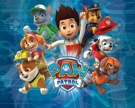 Photo wallpaper Paw Patrol